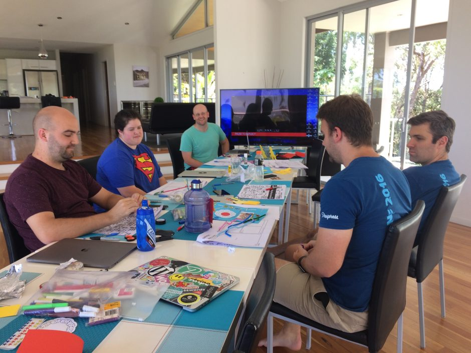 D school activity at Prospress meetup