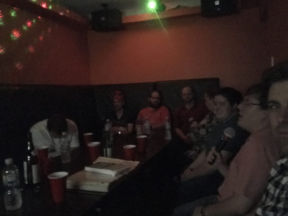 Karaoke at the Prospress meetup