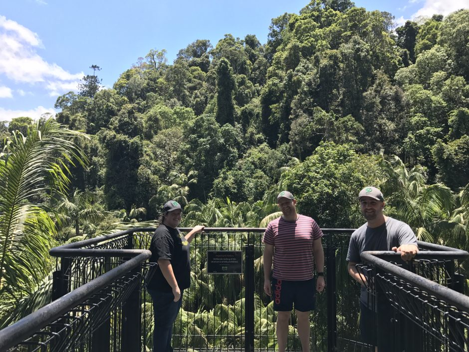 Rainforest Skywalk Prospress meetup