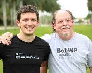 Organisers of Lift Off Summit, Bob Dunn and Patrick Rauland